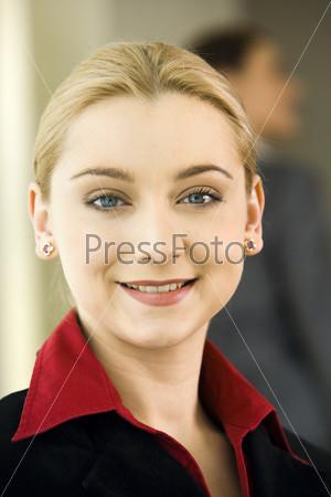 Портрет бизнес-леди крупным планом