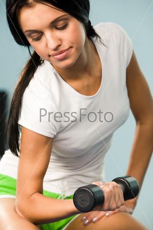 Pumping biceps