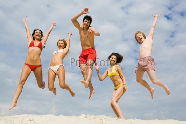 Fun on sand