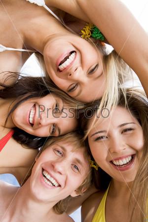 Happy faces