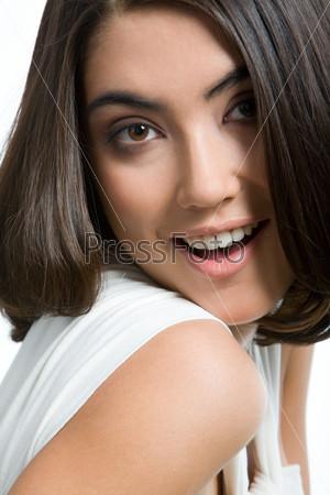 Pretty brunette