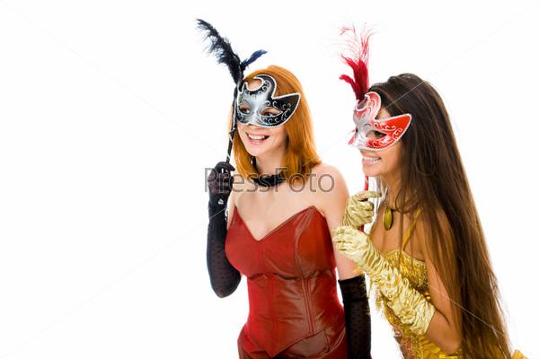Mysterious women