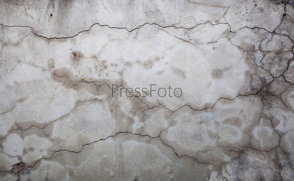 Cracks in a wall