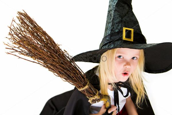 Frightening witch