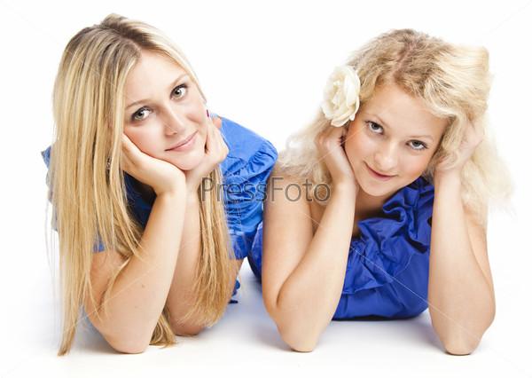 Two girlfriends