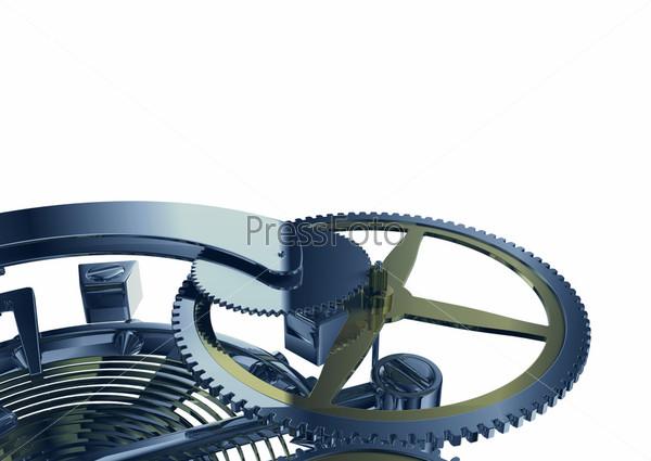 Clockwork mechanism macro