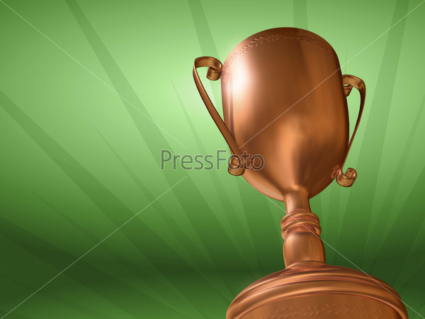 Бронзовый кубок победителя