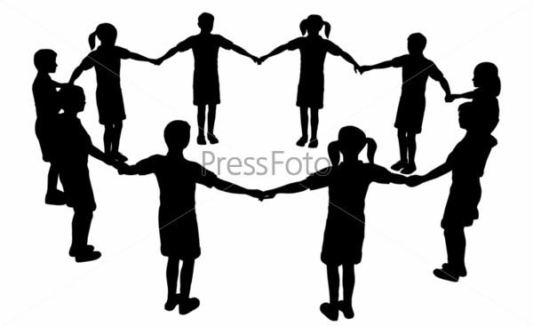 children circle 3