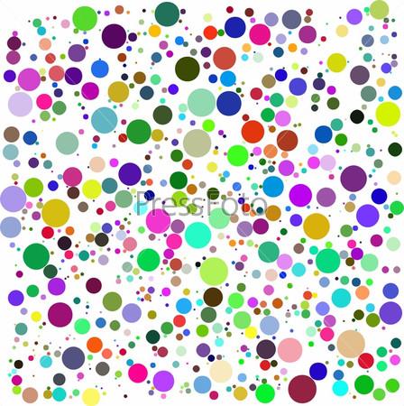 color bubbles vector
