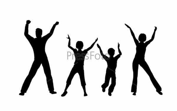 Four dancing