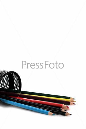 Набор разноцветных карандашей