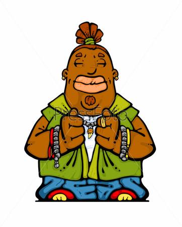 Африканский шаман