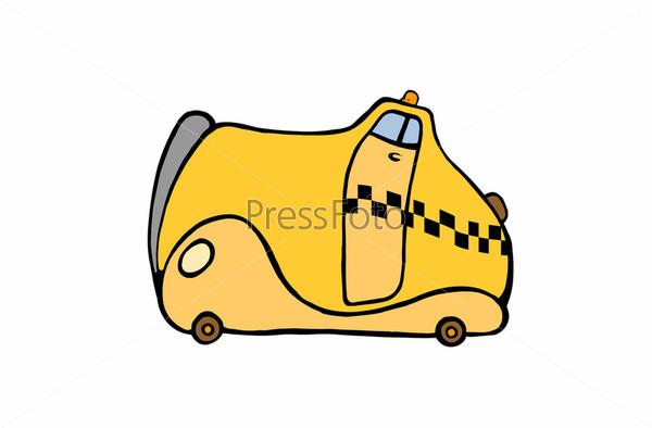 Рисованное такси