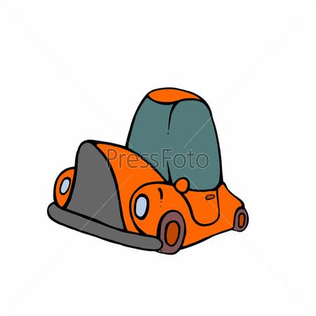 Рисованный автомобиль