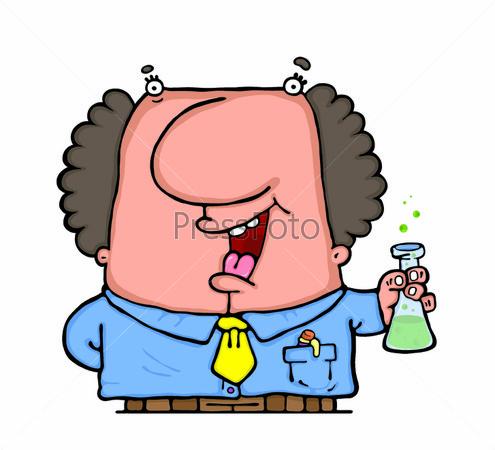 Веселый профессор химии