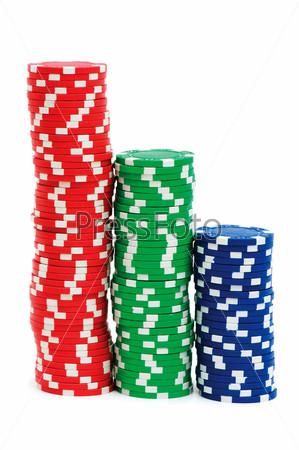 Стопка фишек из казино бизнес интернет казино коммерсант