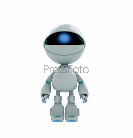 Фигурка белого робота