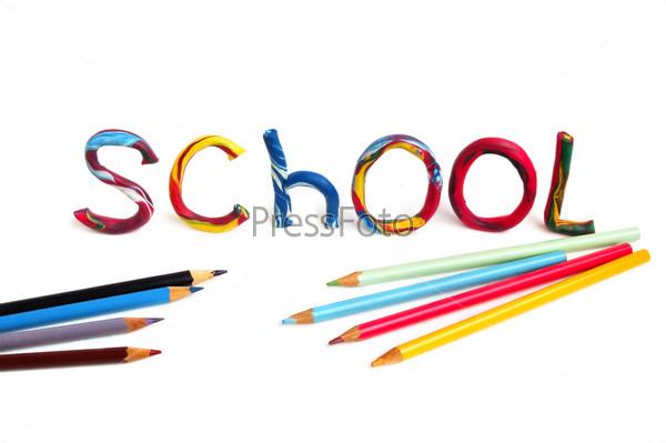 картинки школа надпись