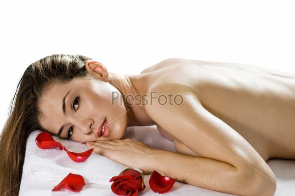 Красивые девушки и массаж фото 458-850