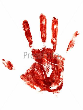 Обои Кровавые руки на рабочий стол | 450x341
