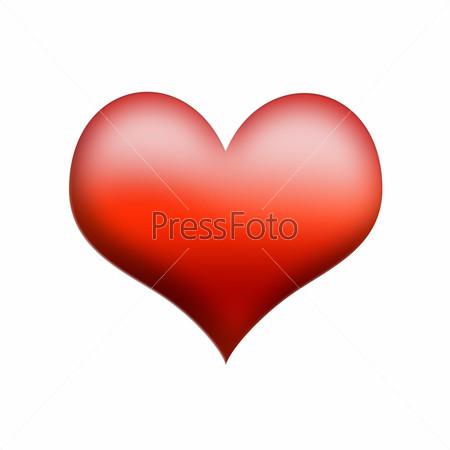 картинки на белом фоне сердечко