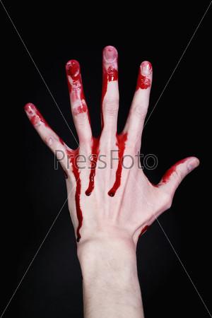 Рука в крові фото 728-762