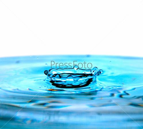 drop on water