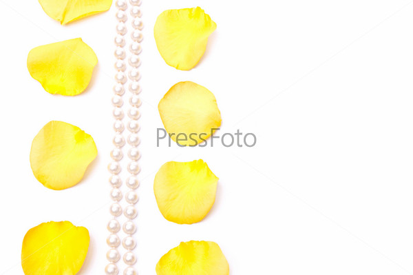 Petals and pearls