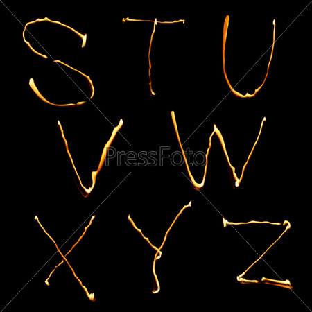 part of alphabet