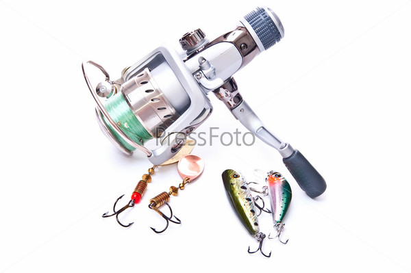 Hooks and reel