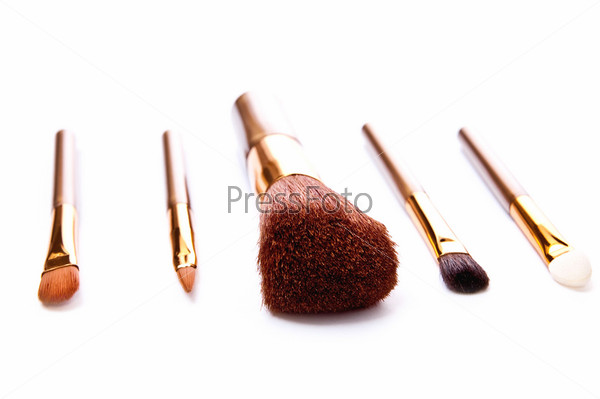 Five brushes