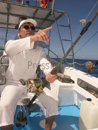 Тропический рыбак