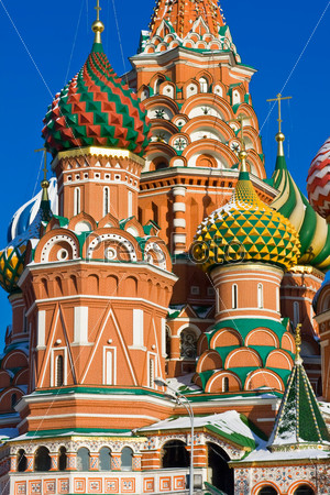 Saint Basil Cathedral on Red Square