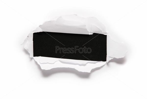 Бумага с отверстием