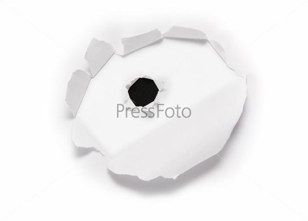 Бумага с дыркой