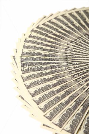 Доллары веером