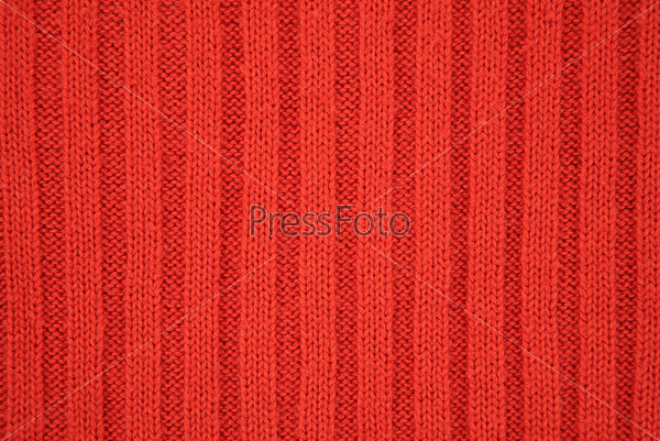 Красная текстура трикотажа