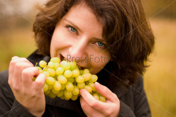 Girl with vine