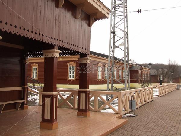 """Станция """"Ясная поляна"""" в Туле"""