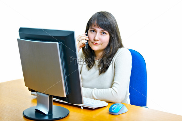 girl - a secretary