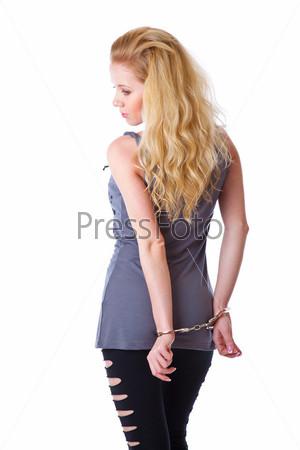 Блондинки в наручниках