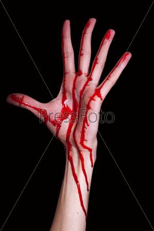Рука в крові фото 728-158