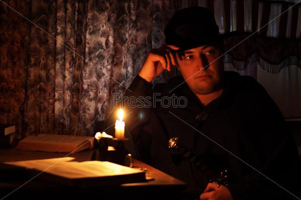 Как фотографировать человека при свечах