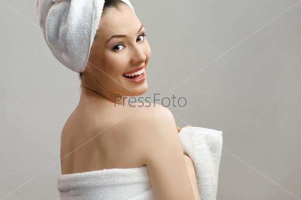 Девушка в полотенсе фото 168-165