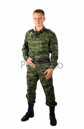 Пацан в солдатской форме фото 46-322