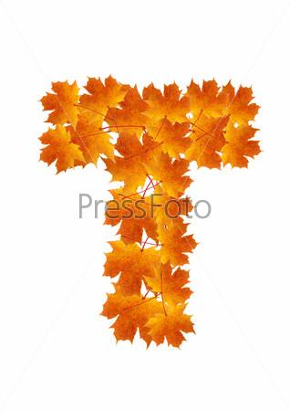 картинки осенние буквы