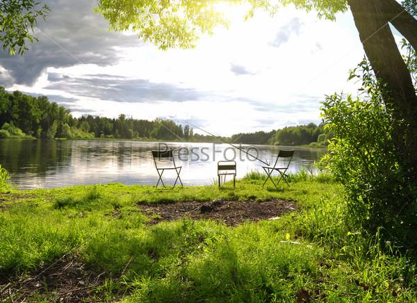 рыболовные озера фото