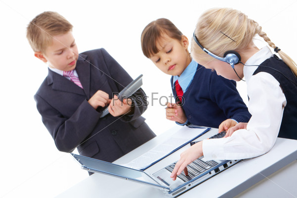 Бизнесмен фото для детей