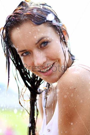 девчонки купаются в сперме - 8