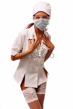 Порно фото молоденьких медсестер раком
